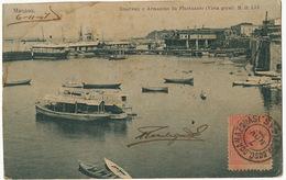 Manaos Roadway E Armazens Do Fluctuante Vista Geral . P. Used To Cuba 1907 Deltiology Club CCC 3052 - Manaus