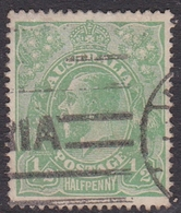 Australia SG 20  1915 King George V,half Penny Green, Used - 1913-36 George V : Têtes