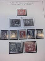 Sammlung SBZ Ca 210 Marken Gestempelt Auf Schaubek Vordrucken (297) - Zona Soviética