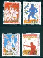 Greece Grèce Griechenland Grecia 2004, Athens Paralympics Games, Archery / Tir A L'arc, Basketball, MNH(**) Full Set - Summer 2004: Athens - Paralympic