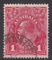 Australia SG 21  1915 King George V,1d Red, Used - 1913-36 George V: Heads