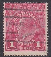 Australia SG 21g 1914 King George V,1d Red,Die II, Used - Used Stamps