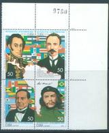 CUBA - MNH/** - 1993 - BOLIVAR CHE GEVARA  - Yv 3325-3328 Mi 3707-3710 - Lot 17248 - Cuba