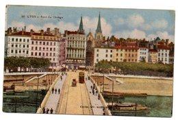 Tarjeta Postal De Lyon- Pont Du Change. Circulada - Lyon