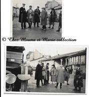 WWI - UN COMMANDEUR DE LA LEGION D HONNEUR - LOT DE 2 PHOTOS MILITAIRES - Guerre, Militaire