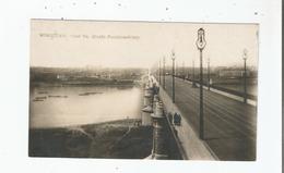 WARSZAWA MOST KS. JOZEFA PONIATOWSKIEGO  1927 - Pologne