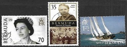 Bermuda  2006-7  Sc#920, 937, 943  3 Diff Better Used - Bermuda
