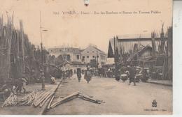 TONKIN - HANOÏ - Rue Des Bambous Et Bureau Des Travaux Publics - Viêt-Nam
