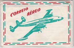 PORTUGAL AIRMAIL KIT - 5 ENVELOPES DE CORREIO AÉREO + 5 FOLHAS DE LINHAS PARA ESCREVER - Poste Aérienne