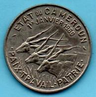 'r65)  CAMEROUN  50 Francs 1960  Km#13 - Cameroon