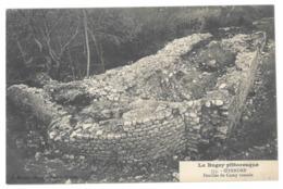 01 Izernore. Fouilles Du Camp Romain. Carte Inédite (3988) - Francia