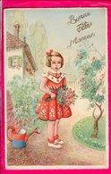 Cpa Carte Postale Ancienne  - Fantaisie Illustrateur Bonne Fete Maman - Fête Des Mères