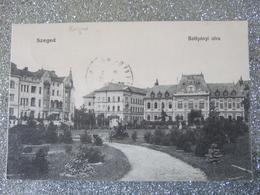SZEGED / BATTYANYL UTCA / BELLE CARTE ANIMEE / 1919 - Hungary