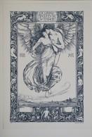 Ex-libris Moderne Fin XIXème Illustré - ANGLETERRE - Art Nouveau - ARTHUR GUTHRIE - Ex-libris