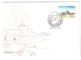 Portugal, 1987, # 1817, FDC Castelos E Brasões De Portugal - FDC