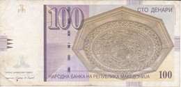 BILLETE DE MACEDONIA DE 100 DENARI DEL AÑO 2009   (BANKNOTE) - Macedonia