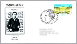Compositor GUSTAV MAHLER - Composer. Wien 2010 - Música