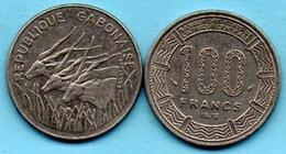 (r65)  GABON  100 Francs 1971  KM# 12 - Gabon