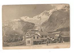 CPA Suisse Valais SAAS FEE Dorf Platz - VS Valais