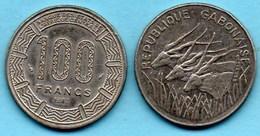 (r65)  GABON  100 Francs 1982  KM# 13 - Gabon