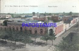 95077 ARGENTINA SAN PEDRO BS AS 1º CENTENARIO BANK BANCO ESPAÑOL VISTA PARCIAL POSTAL POSTCARD - Argentina