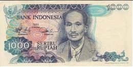 BILLETE DE INDONESIA DE 1000 RUPIAH DEL AÑO 1980   (BANKNOTE) - Indonesia