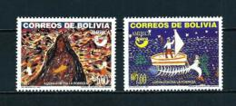 Bolivia  Nº Yvert  1195/6  En Nuevo - Bolivia