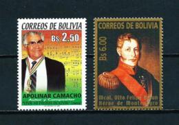 Bolivia  Nº Yvert  1149-1192  En Nuevo - Bolivia
