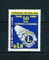 Bolivia  Nº Yvert  1038  En Nuevo - Bolivia