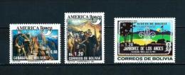 Bolivia  Nº Yvert  781/2-785  En Nuevo - Bolivia