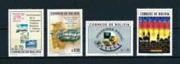 Bolivia  Nº Yvert  779/80-783/4  En Nuevo - Bolivia