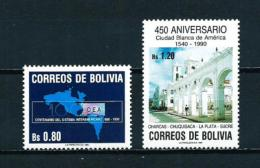 Bolivia  Nº Yvert  747/8  En Nuevo - Bolivia
