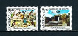 Bolivia  Nº Yvert  735/6  En Nuevo - Bolivia