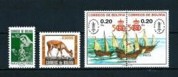 Bolivia  Nº Yvert  633-655-690/1  En Nuevo - Bolivia