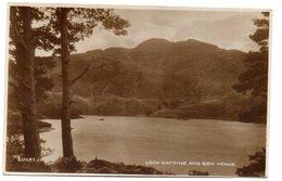 Tarjeta Postal De Loch Katrine. - Stirlingshire