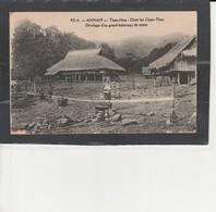 ANNAM -  Than-Hoa - Chez Les Chan-Thay - Dévidage D'un Grand écheveau De Coton - Viêt-Nam