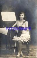 95080 ARGENTINA ARTIST MARIA ELENA BOURDIN 1º CONCIERTO DE VIOLIN 25 - 05 - 1929 POSTAL POSTCARD - Argentina