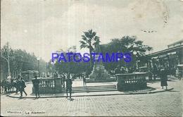 95081 ARGENTINA MENDOZA LA ALAMEDA & TRANVIA TRAMWAY POSTAL POSTCARD - Argentina