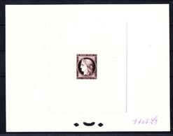 FRANCE - N° 830 - CENTENAIRE DU TIMBRE 1949 - EPREUVE  N°1705Lx BISTRE-BRUN - LUXE - Artist Proofs