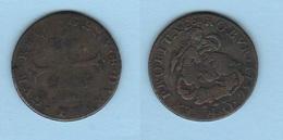 Genova 4 Soldi 1736 O Cavallotto  San Giorgio / Drago - Regional Coins