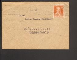 Alli.Bes.24 Pfg. Stephan Auf Fernbrief A. Hamburg 1947 - Gemeinschaftsausgaben