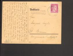DR Fernpostkarte Mit 6 Pfg.Hitler Aus Leipzig V.8/1944 M.Serienstempel Vermeidet Rundfunk-Störungen - Deutschland