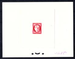 FRANCE - N° 830 - CENTENAIRE DU TIMBRE 1949 - EPREUVE  N°1408Lx ROSE CARMINE - LUXE - Artist Proofs