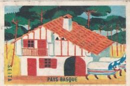 ETIQUETTE BOITE D ALLUMETTES SEITA - PAYS BASQUE ----------------------------------------TDA103A - Boites D'allumettes - Etiquettes