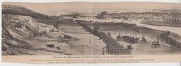 1063 / MONTEREAU - FAUT - YONNE   / Carte Double : Bataille De Montereau 13/02/1814 (Napoléon) - Montereau