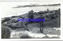95086 ARGENTINA ISLAS MALVINAS FALKLAND ISLAND UK SOUTH GEORGIA VISTA PARCIAL POSTAL POSTCARD - Argentina