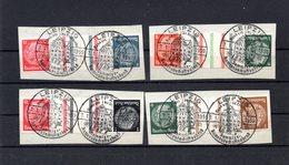 9665 Deutschland, Germany, Drittes Reich Zdr, 127/26-29, SoSt Leipzig - Gebraucht