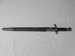 Baïonnette Anglaise Martini Henry 1887 Mark III - Messen