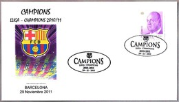 FC BARCELONA. Campeon Liga Y Champions 2010/11 - Futbol - Football. Barcelona 2011 - Equipos Famosos