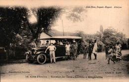 Côte D'Ivoire - Service De Cars - Arrivée à Bingerville - Côte-d'Ivoire